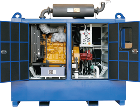 Tecnospirit diesel driven high power unit