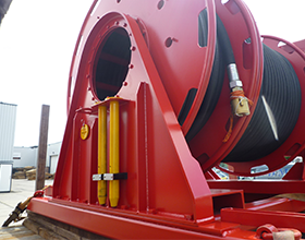 Tecnospirit hose reel winch
